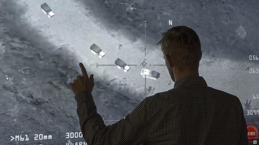 Em 14 de novembro, o Ministério da Defesa da Rússia compartilhou uma imagem de um jogo de computador afirmando que ela provaria que os EUA estavam amparando o Estado Islâmico no Oriente Médio.