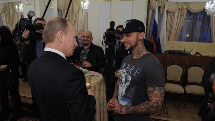 Rapper é a quarta maior celebridade da Rússia, de acordo com a Forbes.