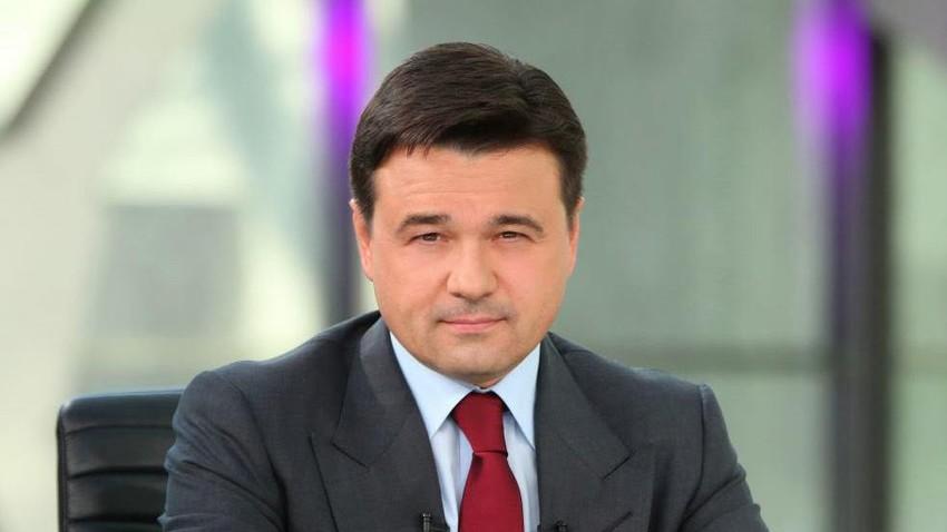 アンドレイ・ヴォロビヨフ、モスクワ州知事。