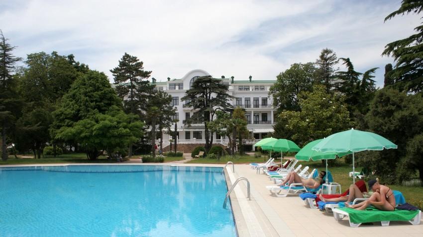 Hotel Krimska riviera, Alušta, polotok Krim