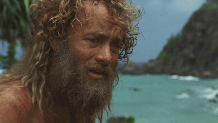 Sodobni Robinson Crusoe v filmu iz leta 2000.