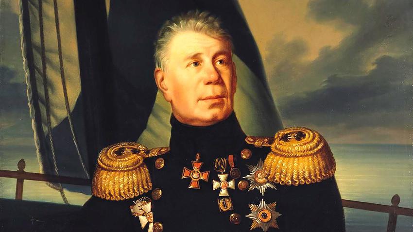 Иван Крузенщерн е първият руснак, направил околосветско пътешествие.