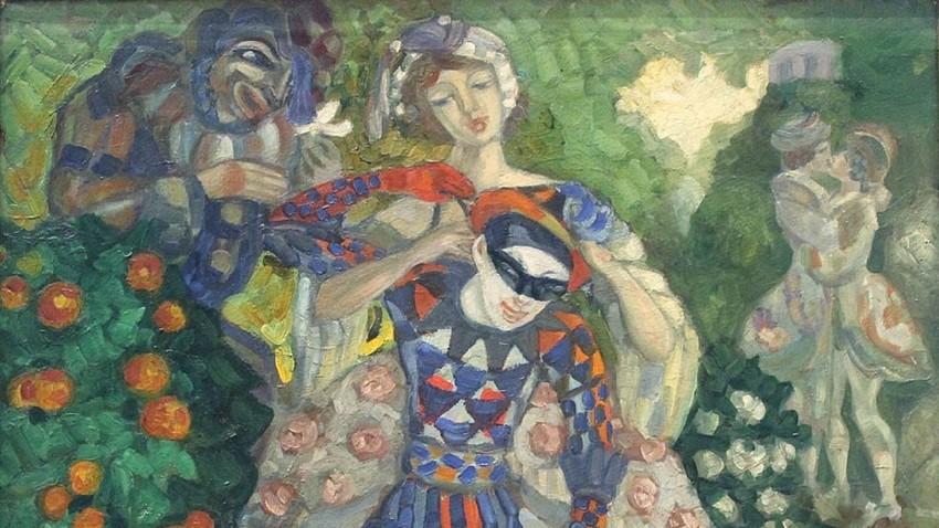 Судејкин Сергеј Јурјевич, Пантомима, 1914.