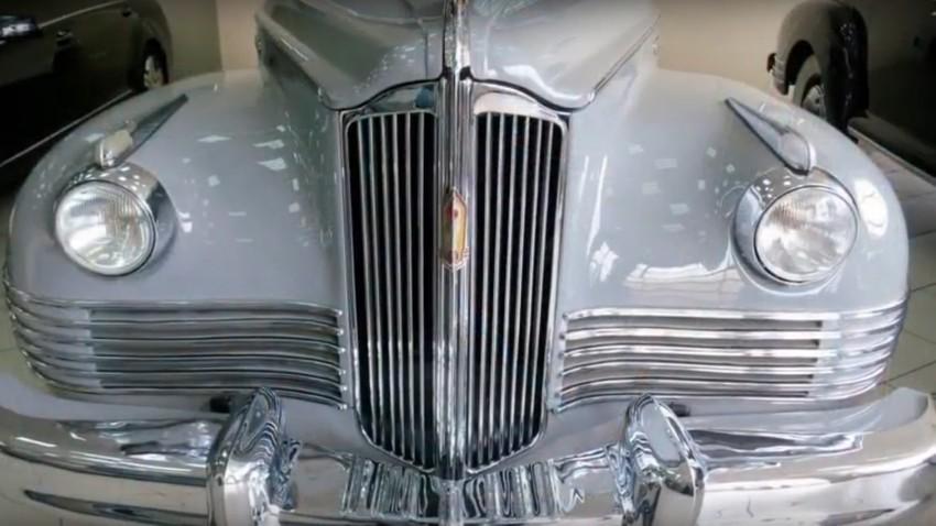 В кабриолета ЗИС 110 (по-късно ЗИЛ) от 1949 г. се е возил маршал Жуков по време на тържествени мероприятия и паради