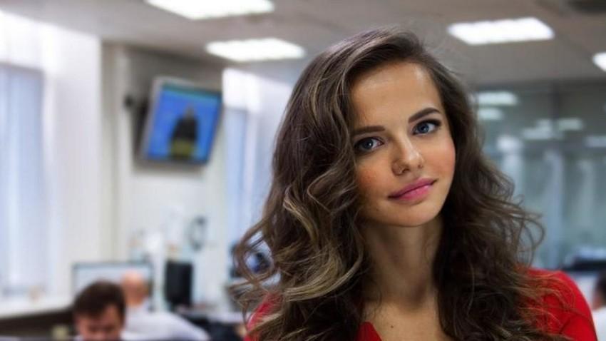 Rosjana Markovska, nova tiskovna predstavnica ruskega ministra za obrambo Sergeja Šojguja