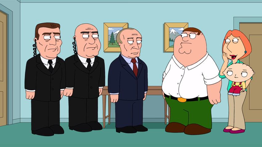 Vladimir Putin faced Peter Griffin directly - and it wasn't pretty