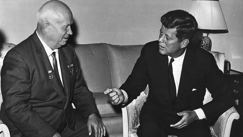Никита Хрушчов и Джон Кенеди