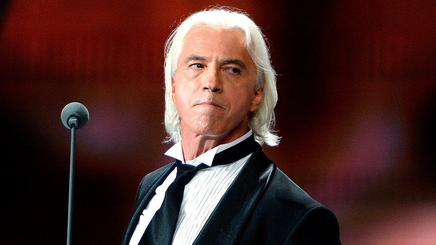 Dmitri Hvorostovsky performs at the 2016 New Wave international music contest for young pop singers in Sochi