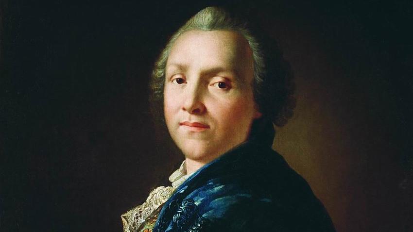 Portrait of Alexander Sumarokov by A.Losenko