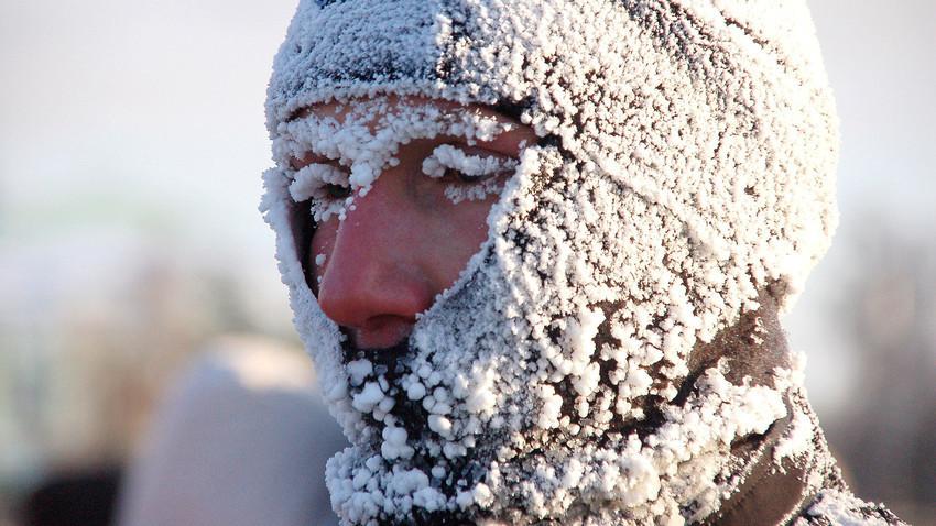 Saat musim dingin, terkadang orang-orang di Rusia terlihat seperti. Tapi tidak semuanya!
