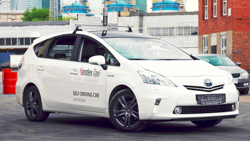 Yandex tests self-driving taxis in the snow - for the first time