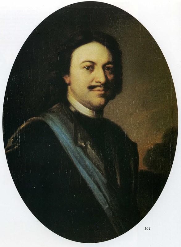 Porträt Peters I. von Carel de Moor (1717)