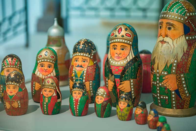 more than just a pretty face the secrets of the russian  exhibition of russian dolls at all russian decorative art museum