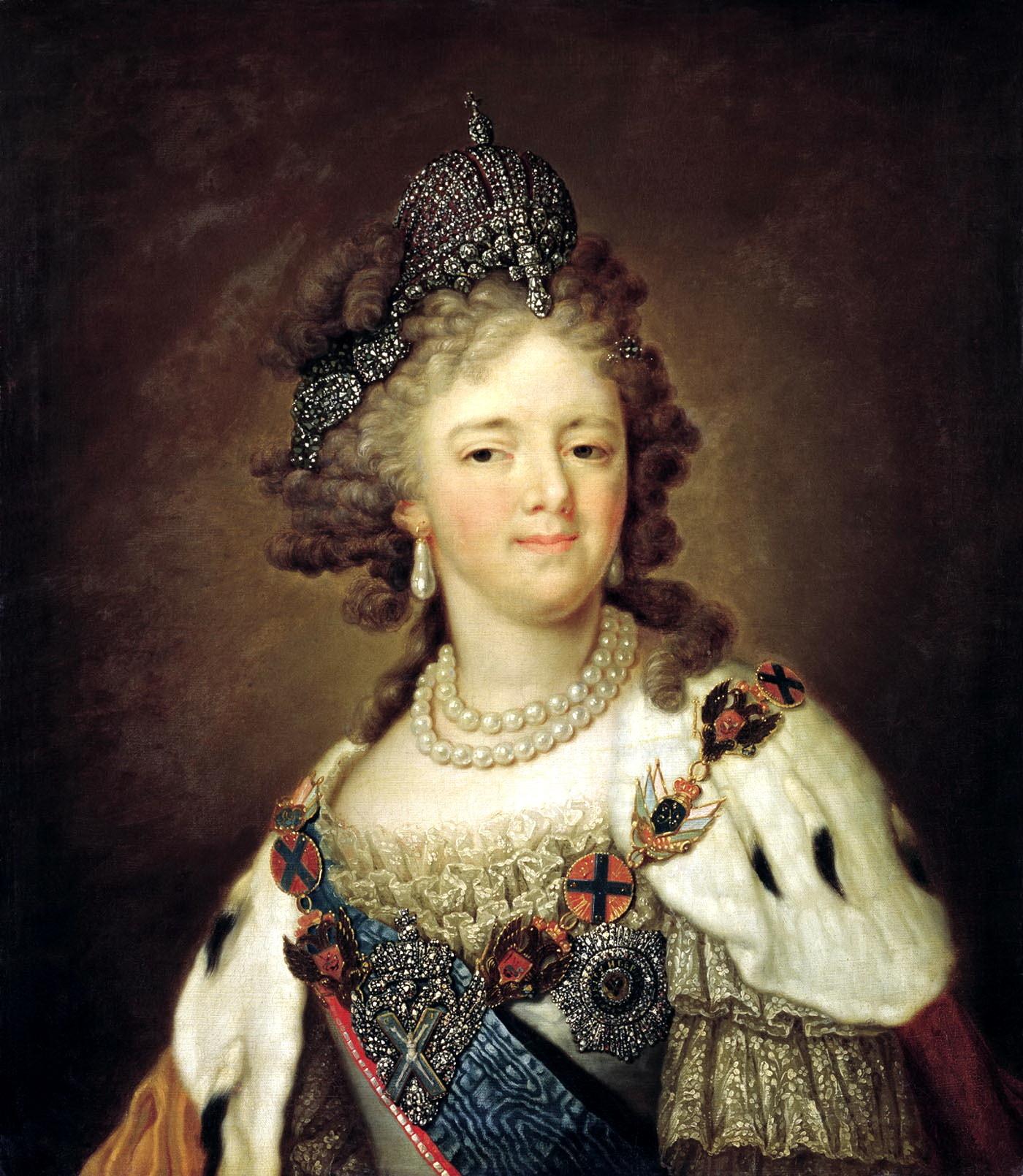 Wladimir Borowikowski: Sophie Dorothee von Württemberg bzw. Kaiserin Maria Fjodorowna von Russland