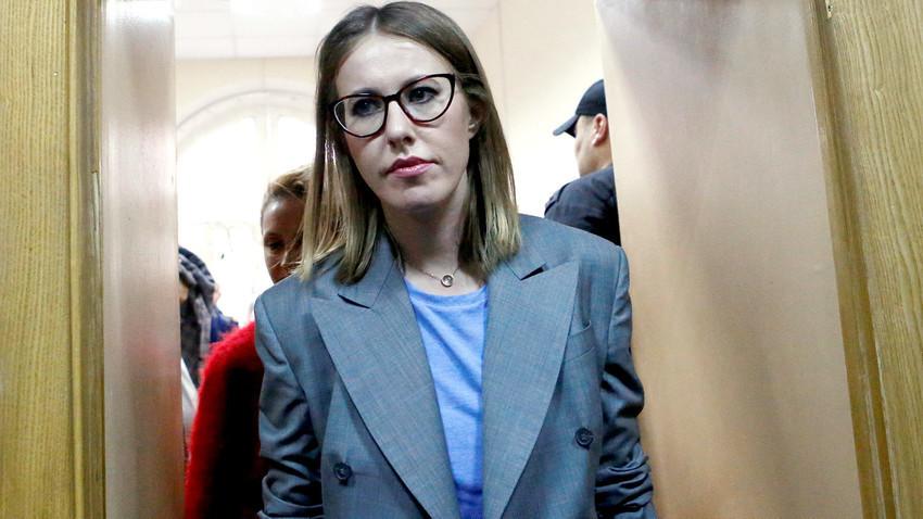 Ksenia Sobtchak.