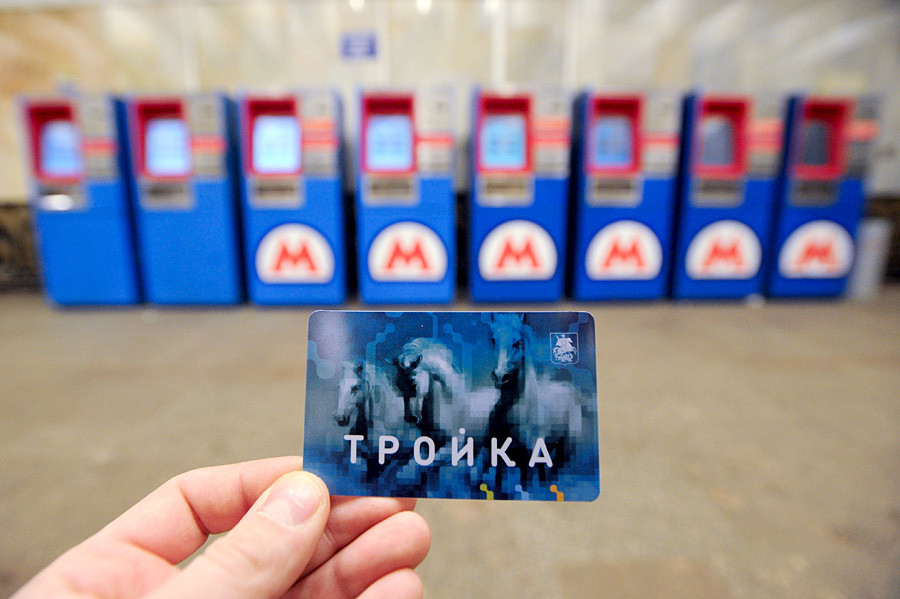 How to use a Troika card on Moscow's Metro, and other ways