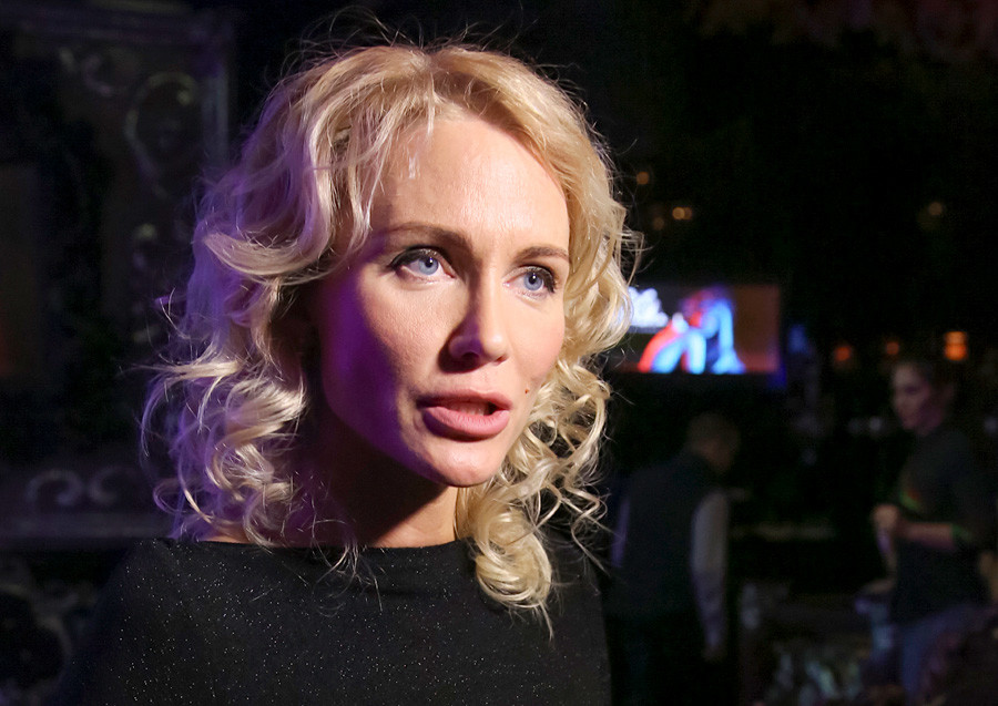 Russian journalist Yekaterina Gordon.