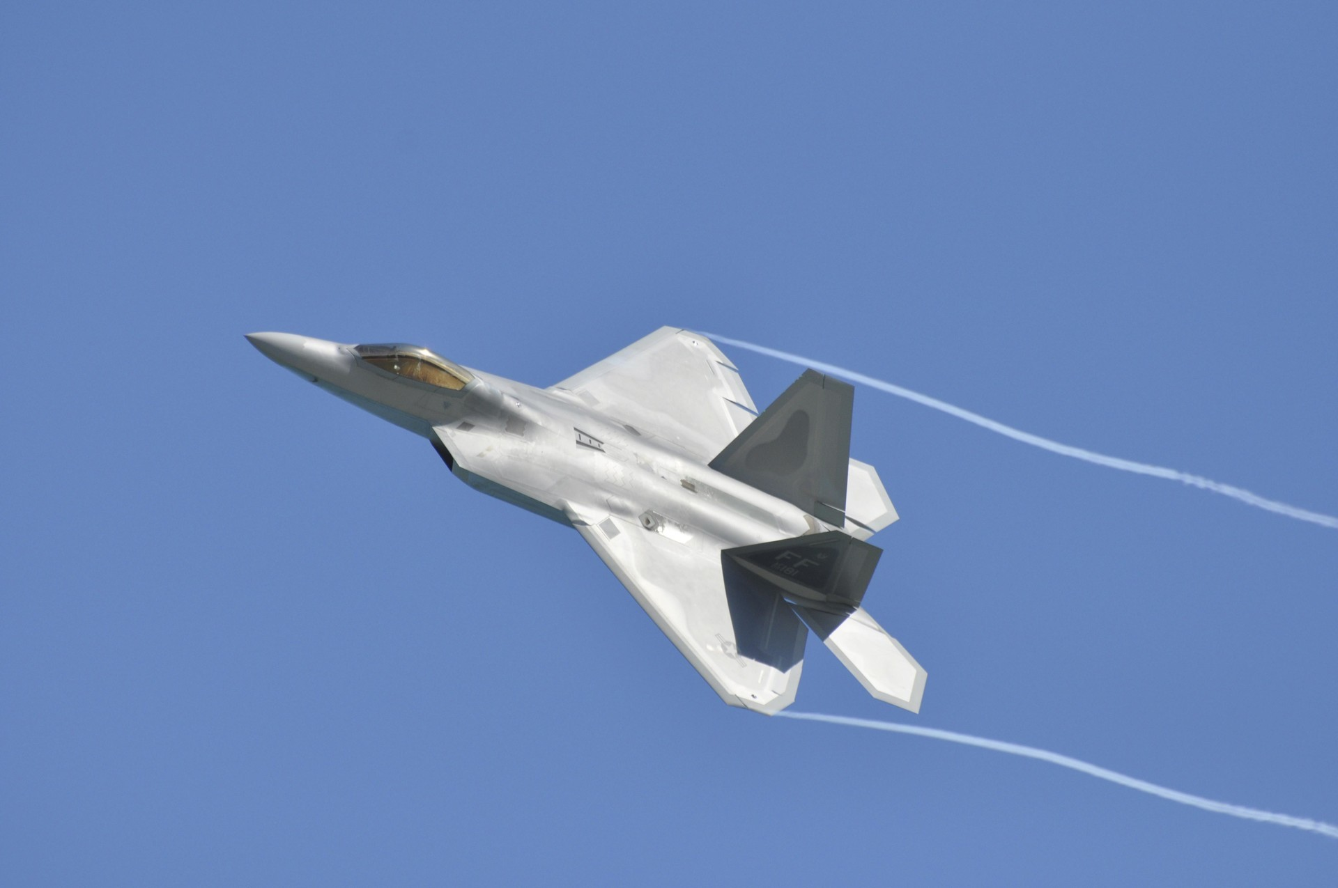 F-22 Raptor. Milwaukee, Wisconsin, SAD.