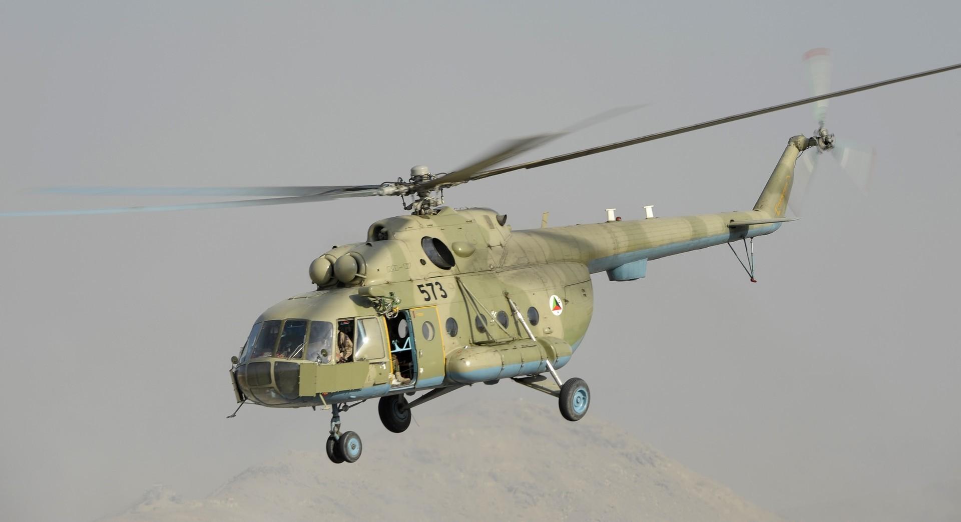 Mi-17, versão de exportação do helicóptero russo Mi-8