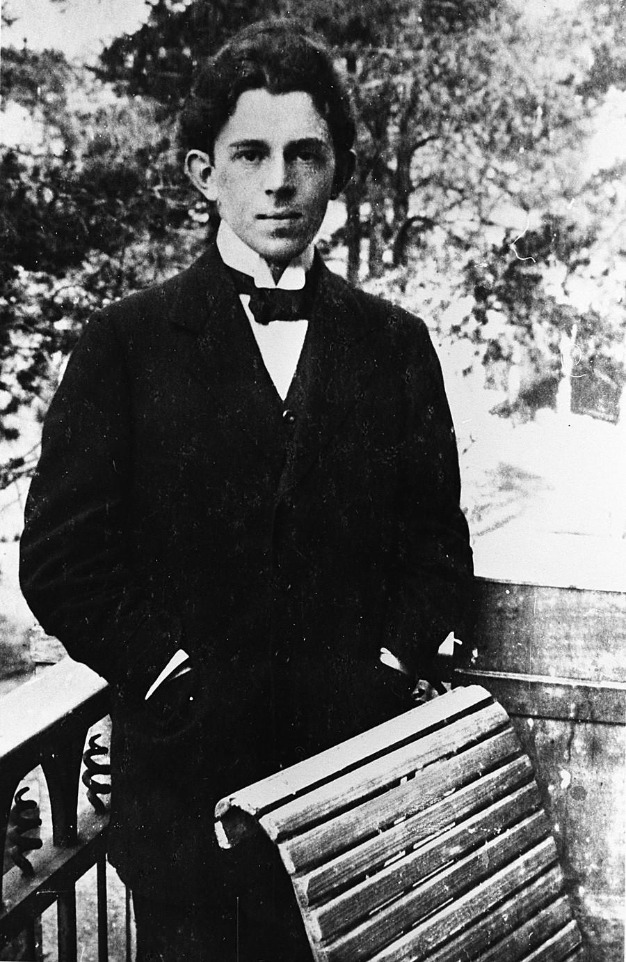 Poeta ruso Ósip Mandelstam.