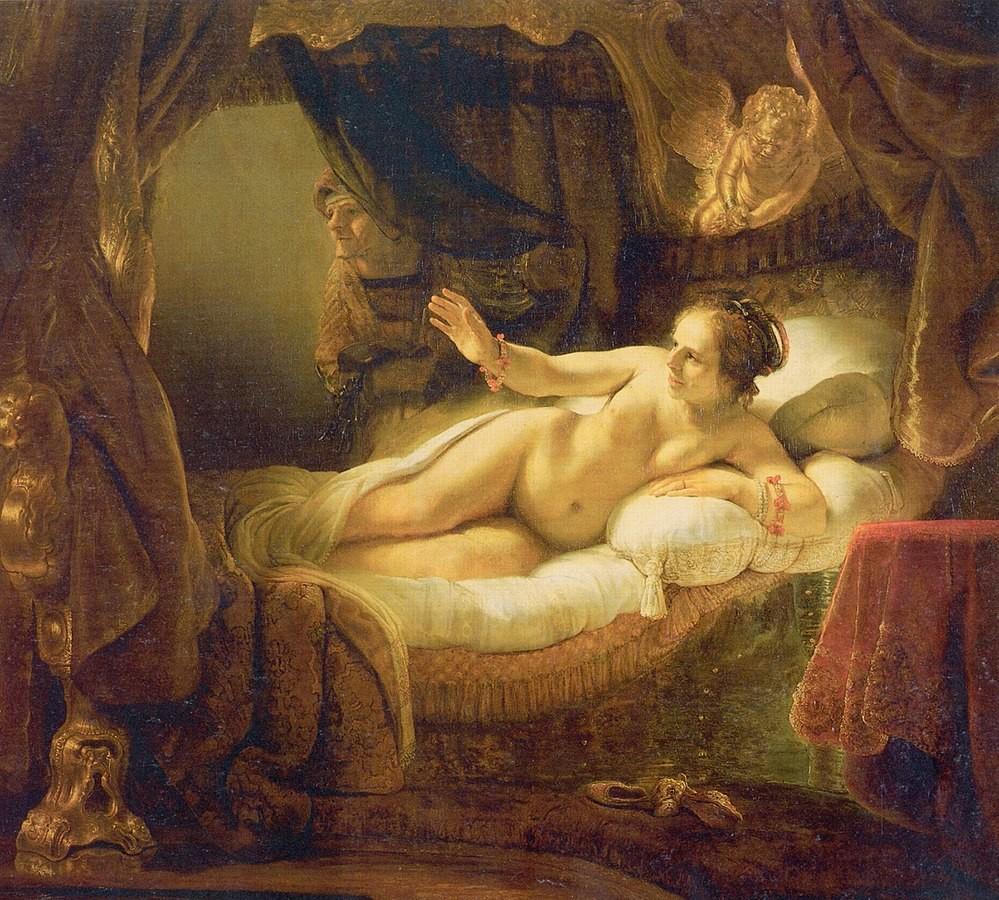 Eines der Meisterwerke in den Sammlungen der Eremitage ist die «Danaë » von Rembrandt.