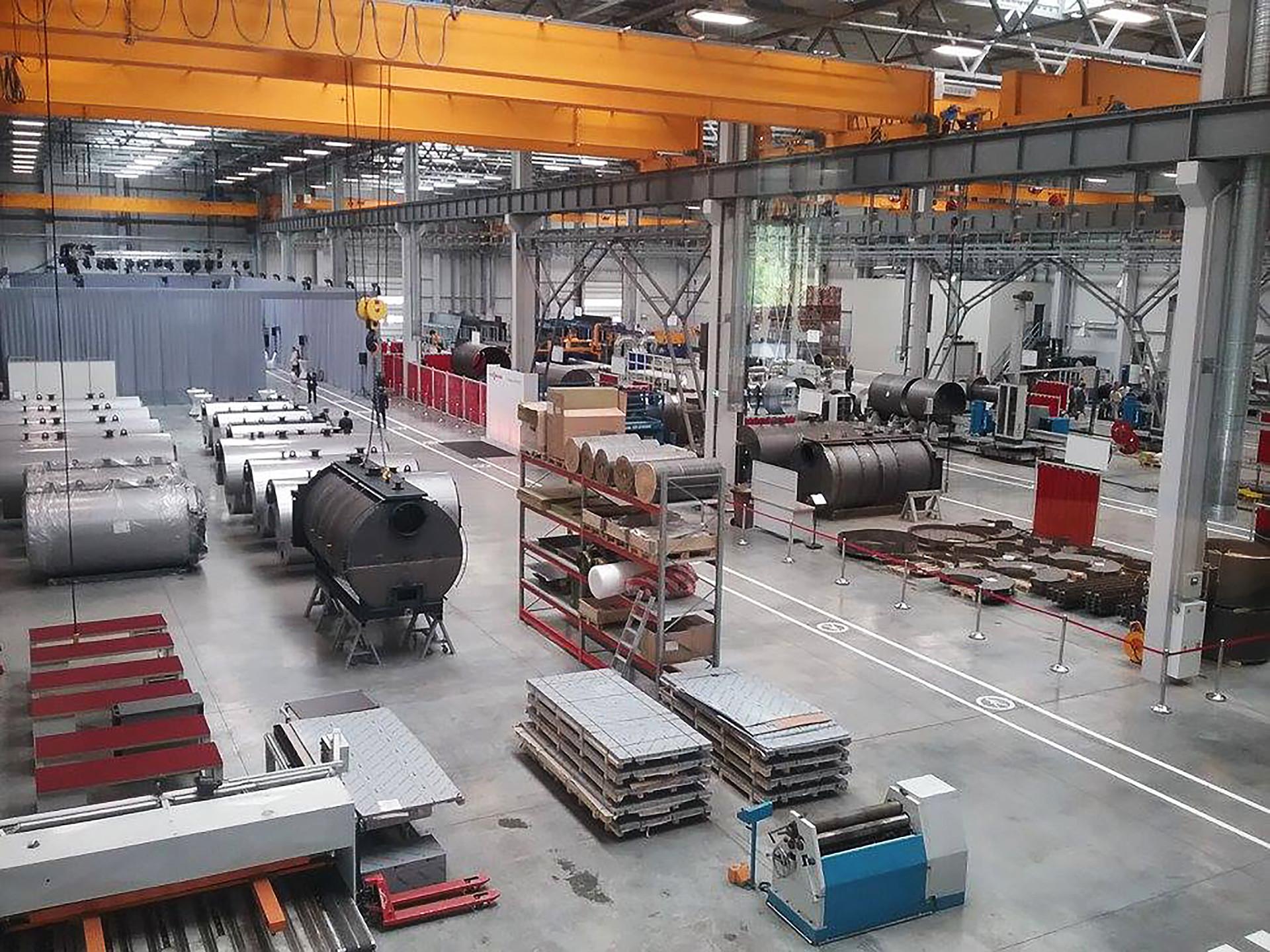 Empresa alemã de aquecimento Viesmann abriu oficialmente uma fábrica na Rússia, que custou quase US$ 17 milhões.