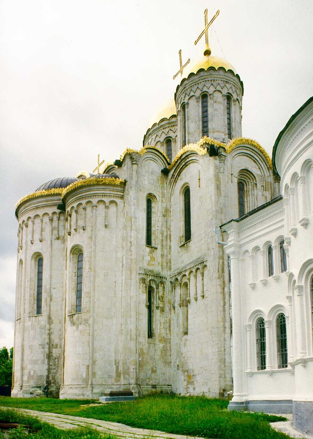 Dormition Cathedral. Northeast view. June 19, 1994.
