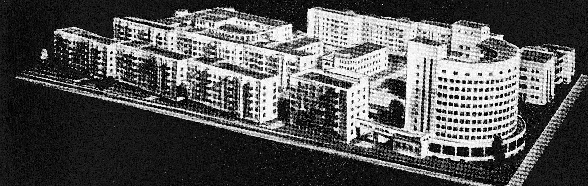 Original plan for Chekists' Village by Ivan Antonov and Veniamin Sokolov in 1929