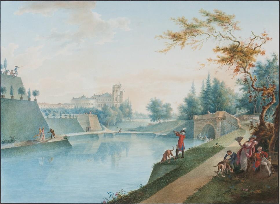 Gattschina im Jahr 1798