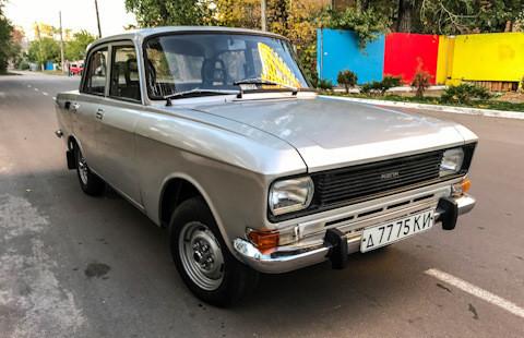 """Во текот на 1980-те металик бојата беше """"научна фантастика"""" за автомобилите од советско производство."""