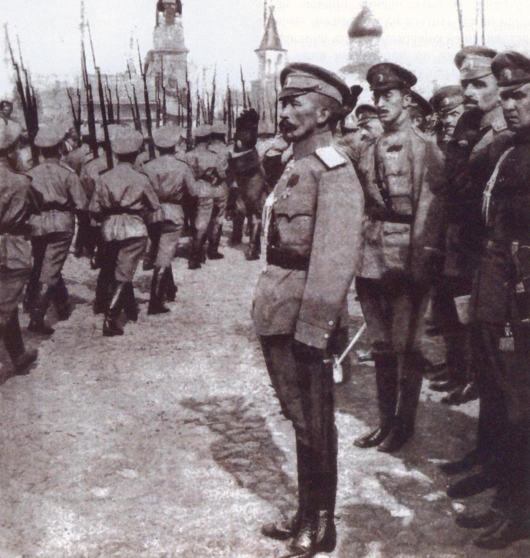 General Lavr Kornilov.
