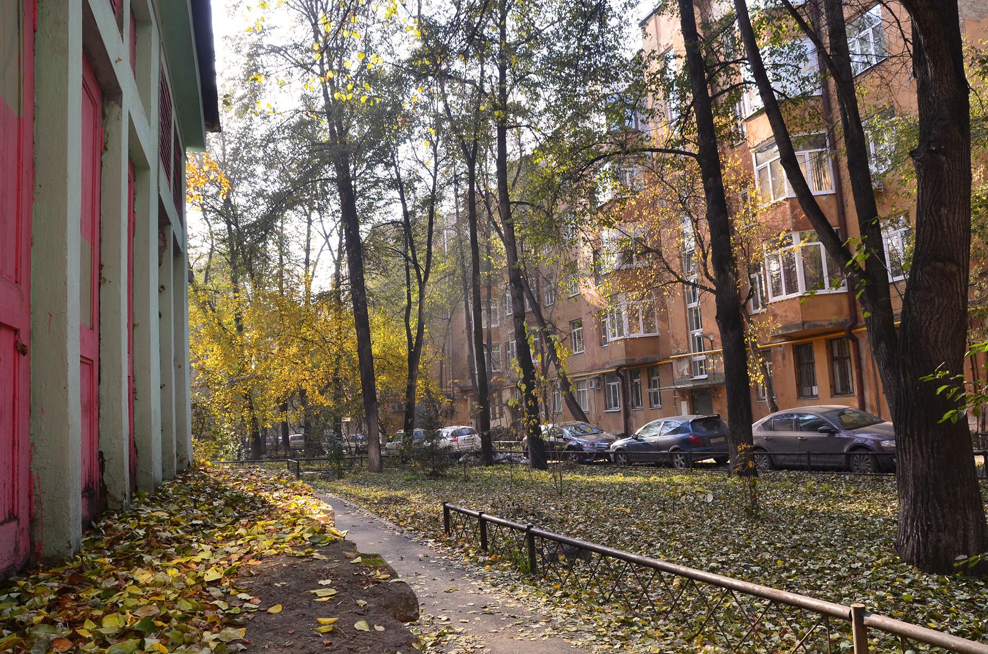 Aldea de los Chekistas en Ekaterimburgo.
