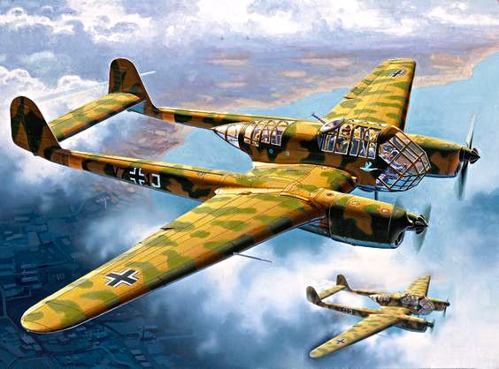 Немачки авиони Fw-189 за које се испрва мислило да су напали совјетску транспортну колону