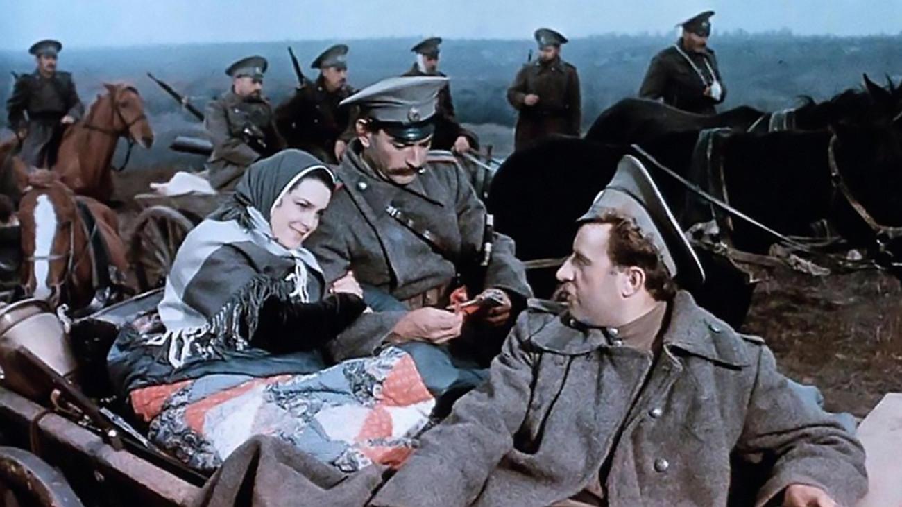 "Сцена из совјетског филма ""Тихи Дон"" (1957)."