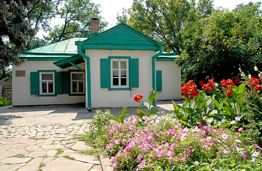 チェーホフが両親と暮らしていた家