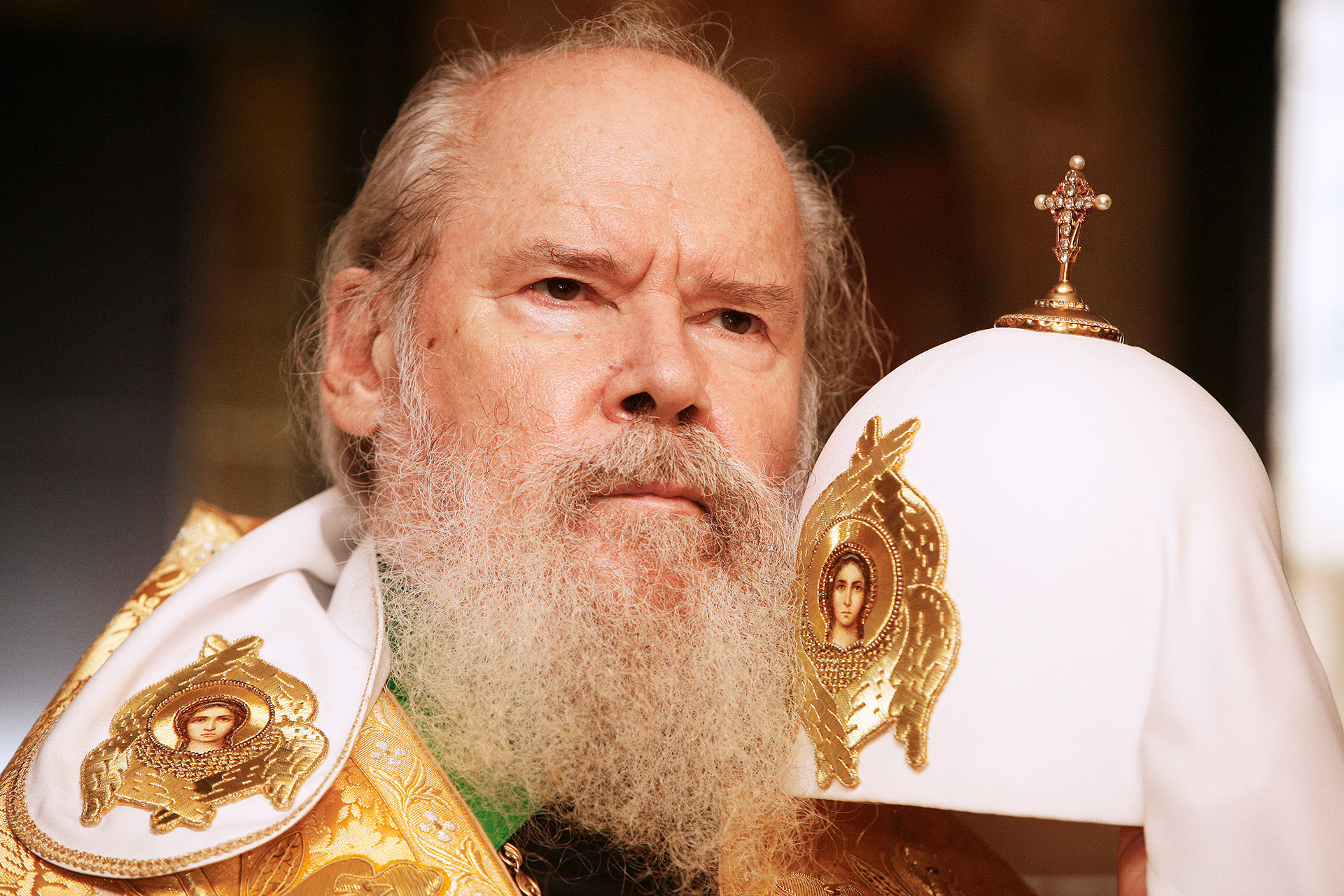 Patriarch of Russian Orthodox church Alexy II