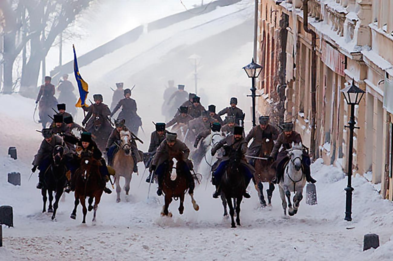 Scena iz TV serije