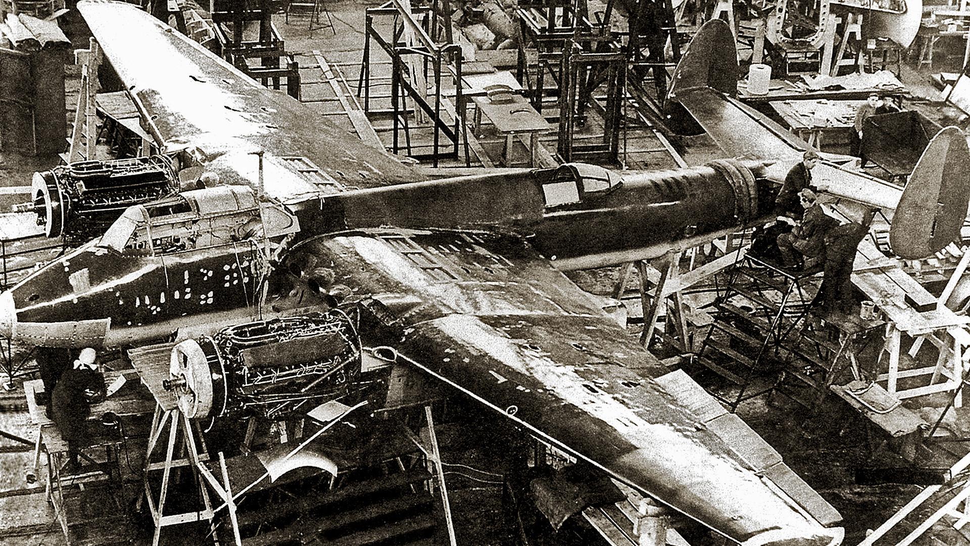 Tu-2 im ZKB-29, 1940