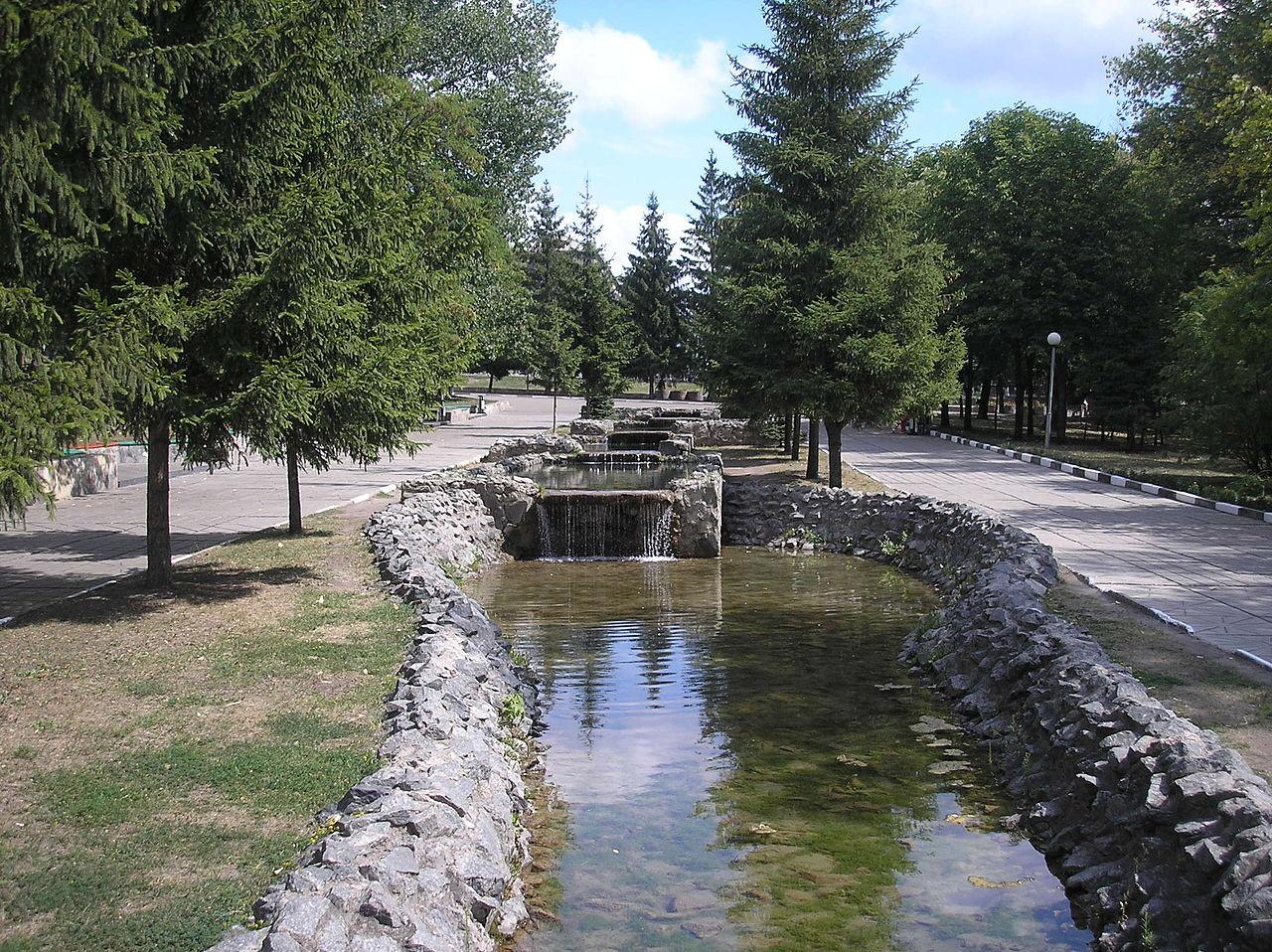 Park spomina na borce velike domovinske vojne