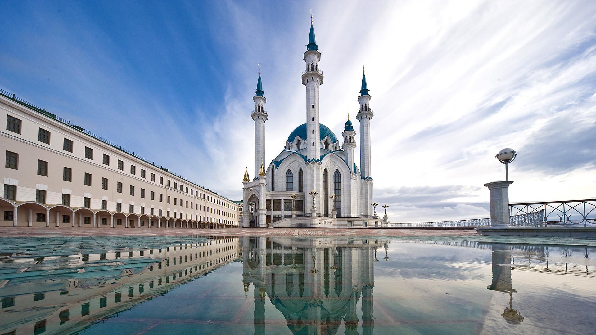 Masjid Kul Sharif di Kazan.
