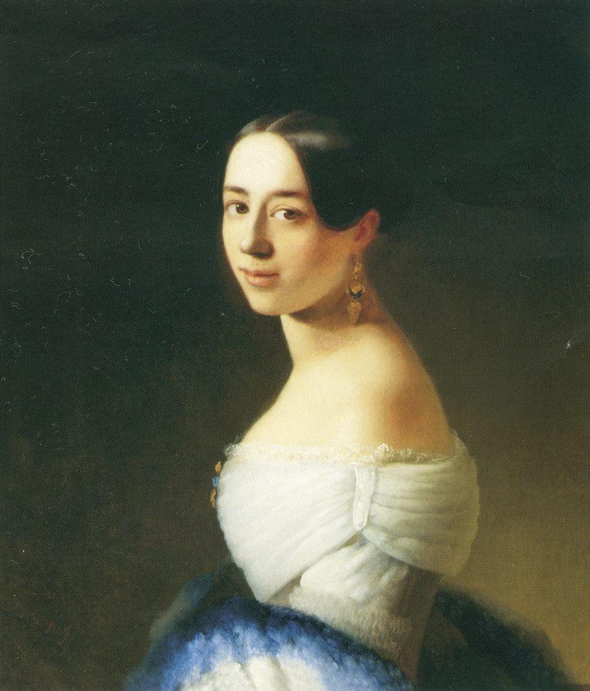 Paulina Viardot, obra de T. Neff.