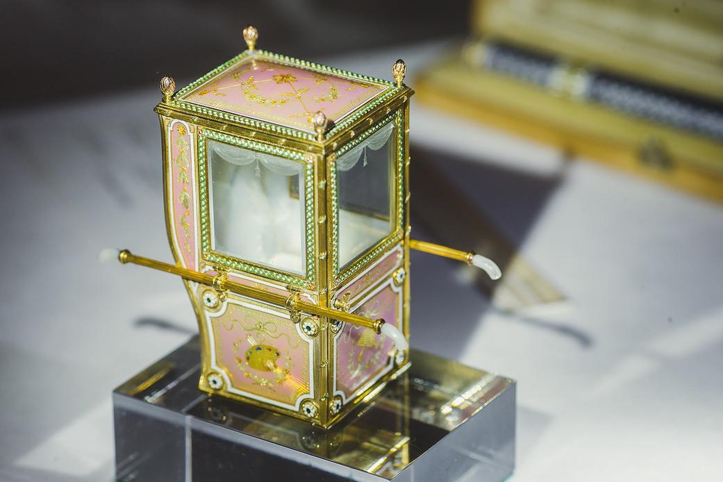 Des chefs-d'œuvre Fabergé et des joyaux à l'histoire impériale aux enchères chez Christie's