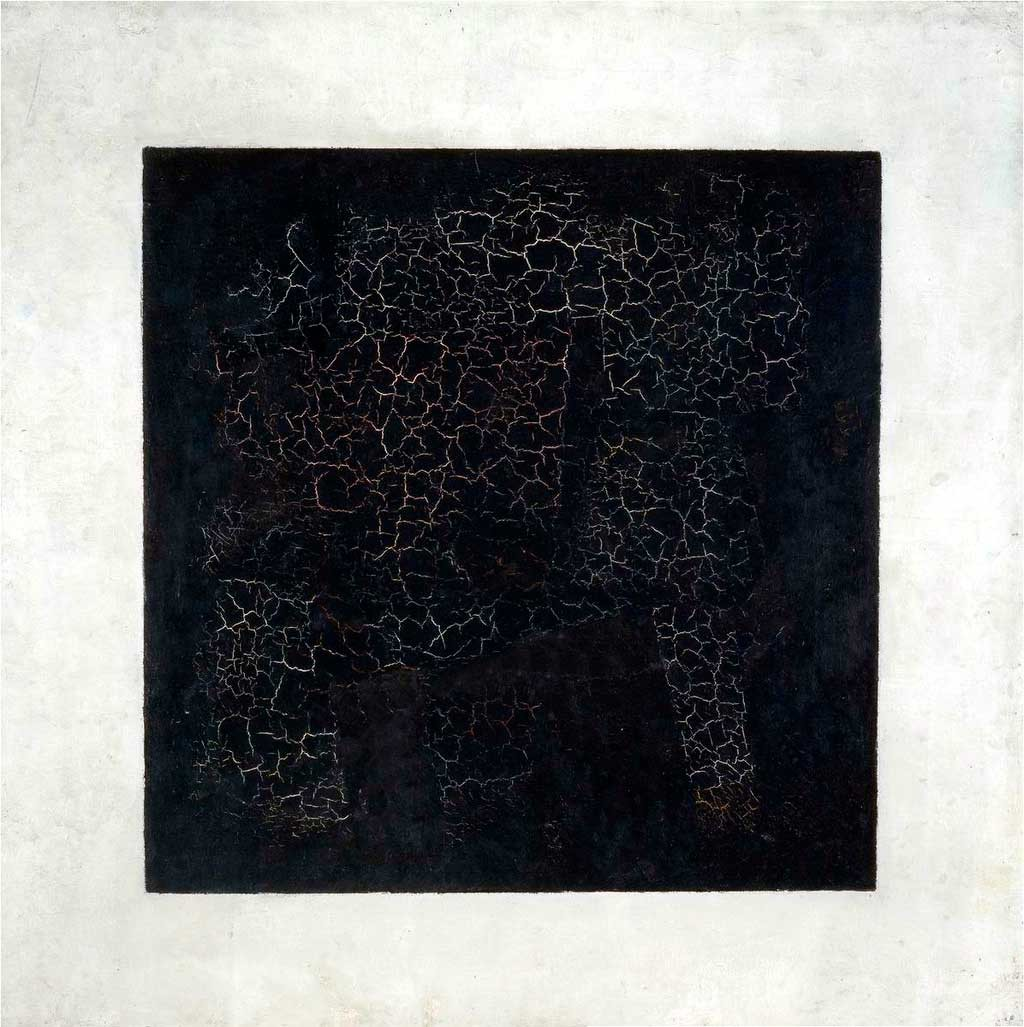 "Kazimir Malevich painted ""The Black Suprematist Square"" in 1915"