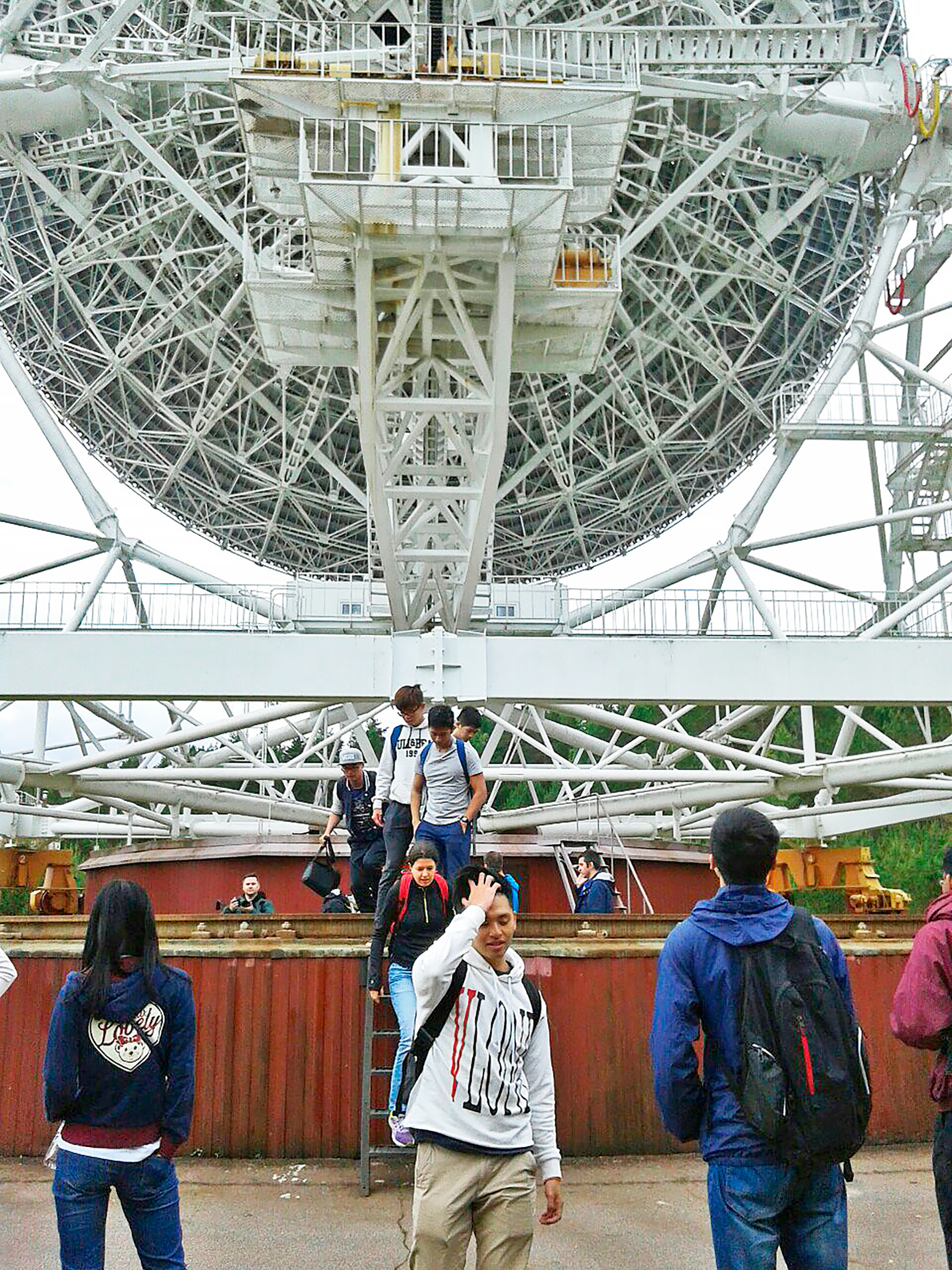 Students of School Module 'Space Technologies' visited the Radio- astronomical observatory 'Svetloe'