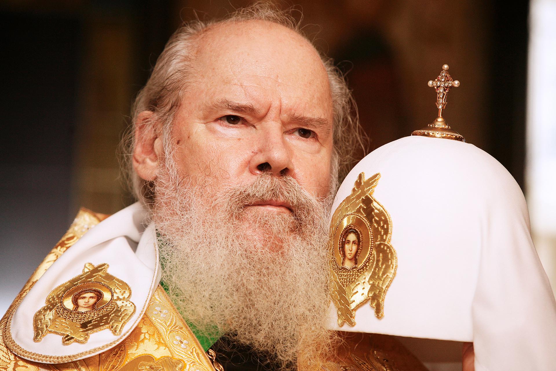 Patriarca de la Iglesia ortodoxa rusa Alejo II.