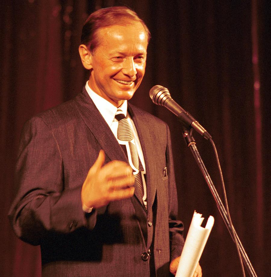 Mikhail Zadornov in the mid 1980s