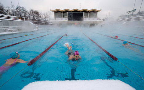 La piscine à ciel ouvert Tchaïka.