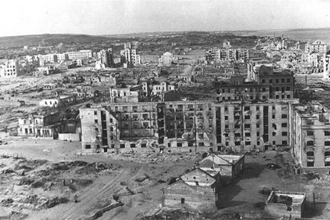 Stalingrad, May 1943