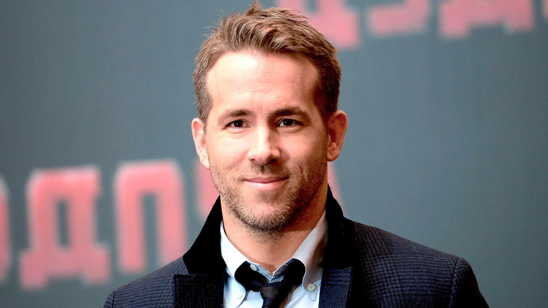 Ryan Reynolds at the Ritz Carlton Hotel in Moscow.