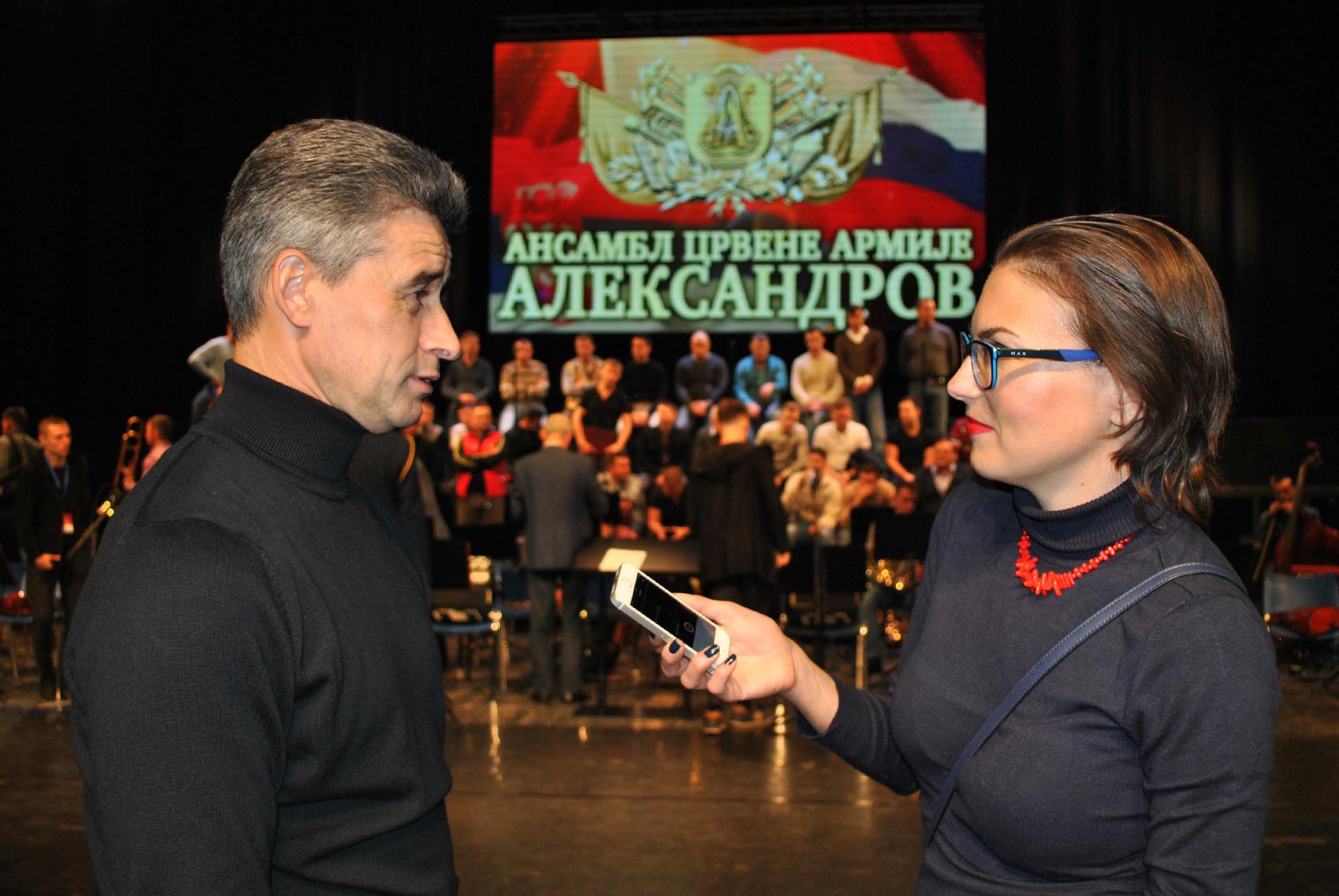 Генадиј Сачењук и Катарина Лане
